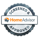 Screened & Approved Home Advisor Badge
